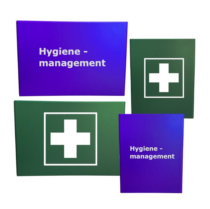 Kunststoff Ordner zur  Aufbewahrung von Unterlagen nach DIN